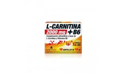 L-Carnitina 2.000Mg.+ B6, 10 Ampollas