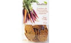 Crackers con Germinados con Zanahoria y Especias 80gr