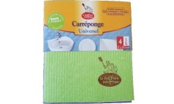 Bayetas absorbentes de celulosa y algodón, 4uds.