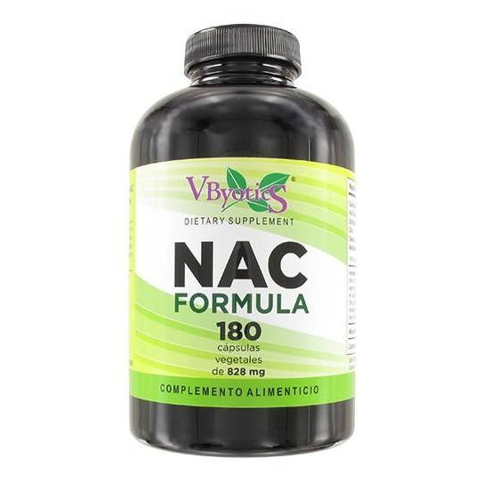 NAC (N Acetil Cisteina), 180 Cápsulas