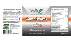Super Enzimas con DIGEZYME®, 90 cápsulas vegetales