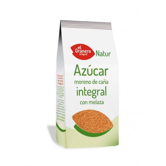 AZUCAR MORENO DE CAÑA INTEGRAL CON MELAZA, 1 kg