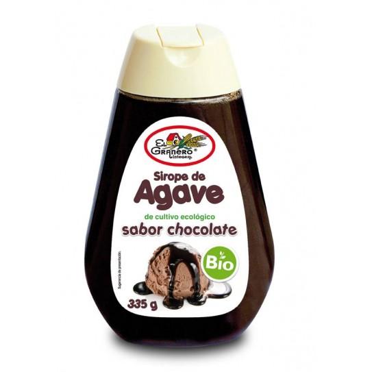 SIROPE DE AGAVE SABOR CHOCOLATE BIO, 335 g