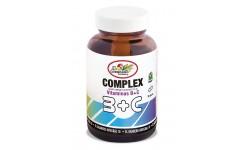 B+C COMPLEX VITAMINAS, 90 CAPSULAS 610 mg