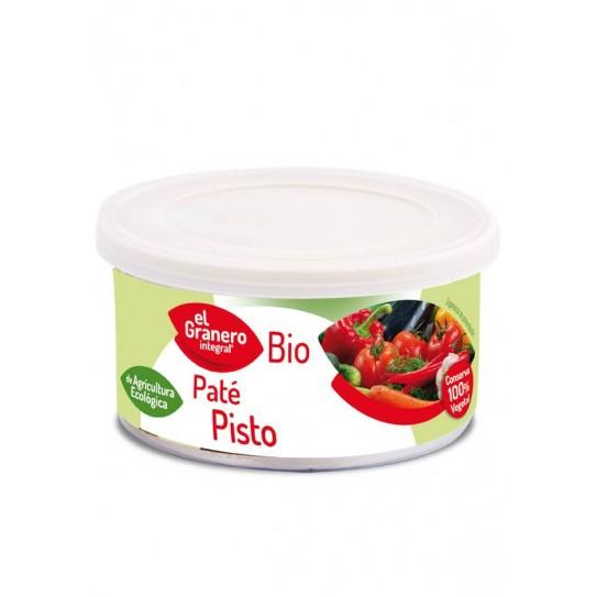 PATE PISTO BIO, 125 g