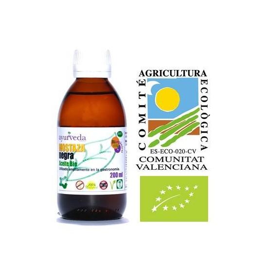 ACEITE DE MOSTAZA NEGRA, 200 mg