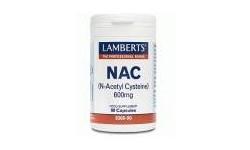 NAC (N-acetil cisteína) 600mg 90 cápsulas vegetarianas