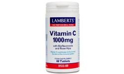 Vitamina C 1000 mg Con Bioflavonoides y Escaramujo 60 Tab