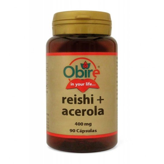 Reishi (micello) y acerola 400 gr. 90 cápsulas