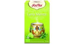 Yogi Tea menta y lima 17 x 1,8 g