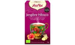 Yogi Tea hibisco y jengibre 17 x 2 g