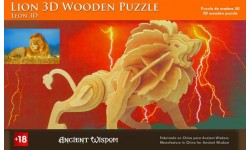 Puzzle de Madera 3D (León)