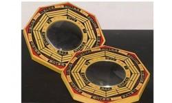 Espejo Pakua Grande (1 cóncavo + 1 convexo)