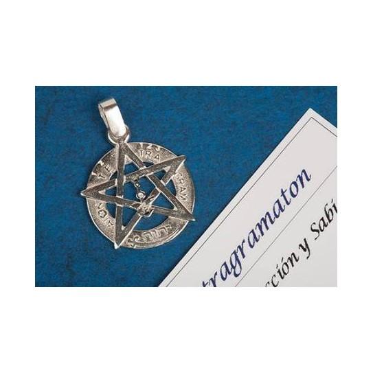Tetragramatón Fino en Plata de Ley