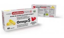 Omega 5 - Aceite de semilla de granada ecológico  60 cápsulas