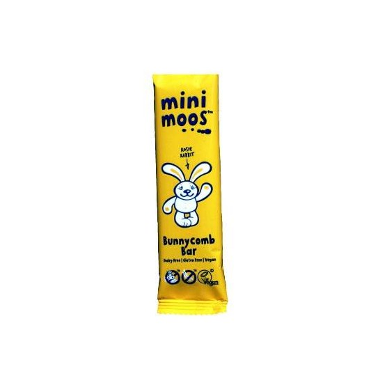 BARRITA CHOCOLATE MINI MOOS CON CARAMELO BIO, 20 g