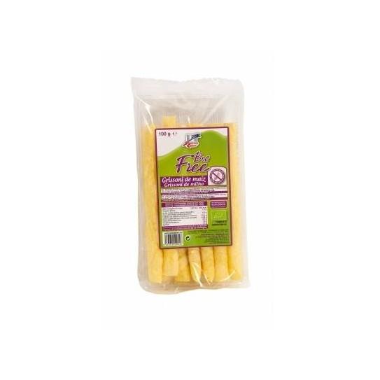 Grissoni de maíz biológico bio 100g