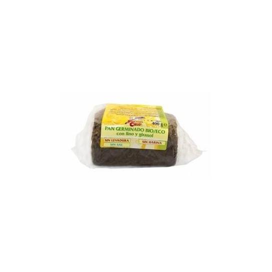 Pan especial a base de trigo germinado con semillas de lino y de girasol