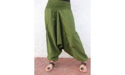 Pantalón Afgano Liso