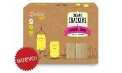 Crackers de sarraceno y quinoa Bio, 120gr