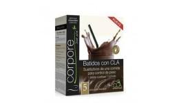 Batido sustitutivo de chocolate con Stevia (5 uds)