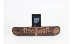 Altavoz de bambú Amalur NOTAS MUSICALES