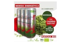Bebida energética Matcha, 330ml