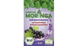 Bebida refrescante de Moringa Grosella Bio (botella), 330ml