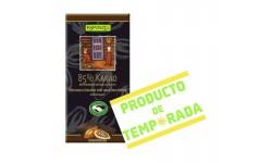 Chocolate 85% Cacao Bio, 80gr