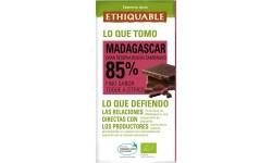 Chocolate negro 85% cacao ecológico, 100gr