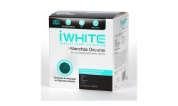 iWhite kit de blanqueamiento dental manchas oscuras, 10 moldes