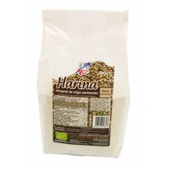 Harina integral de trigo sarraceno