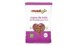 Copos de maíz con chocolate